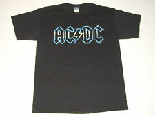 AC/DC OFFICIAL LIVE AT RIVER PLATE BLACK T-SHIRT-SIZE LARGE-NEW!!