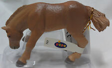 Papo Boulonnais Foal Horse Equestrian toy Figure pretend play animal 51104 NEW