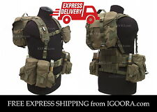 Sale Smersh AK Sposn SSO Chest Rig Tactical Vest Pouches Olive Military Army Mag