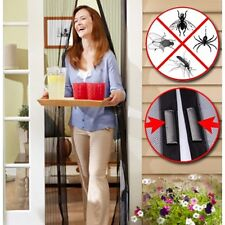 AS SEEN ON TV Magic Mesh Hands-Free Screen Door with magnets New