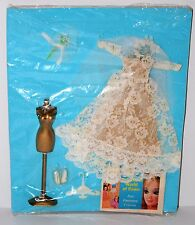 Vintage Topper Dawn Doll Fashion Outfit #815 Wedding Bell Dream Silver MOC Lot 1