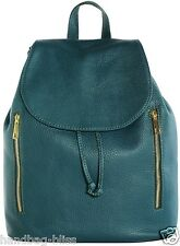 Handbag Bliss Italian Large Soft Grained Leather Backpack Rucksack (New Style)