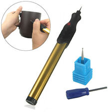 Gold Micro Cordless Engraver Engraving Pen for Metal Jewelry Wood Glass Ceramics