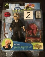 The Muppet Show Waldorf series 6 action figure by Palisades Toys - dented box