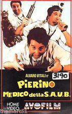 Pierino medico della Saub (1982) VHS  AVO Film Video  - Alvaro Vitali