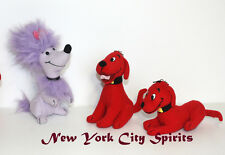 """Clifford the Big Red Dog and His Friend Cleo Plush 5""""  3 Pieces Set"""
