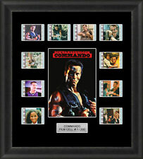 COMMANDO FRAMED FILM CELL MEMORABILIA SCHWARZENEGGER