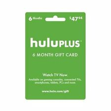 Hulu Plus Subscription $50 Gift Credit via Email