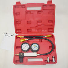 Cylinder Leak-Down Leak Detector Engine Diagnos Compression Vacuum Tester Gauges
