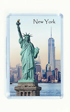 Fridge Magnet, New York, Statue of Liberty, Freedom Tower