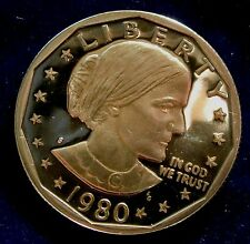 1980-S San Francisco Mint Susan B. Anthony Dollar Proof