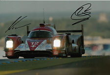 Nick Heidfeld and Nicolas Prost Hand Signed Rebellion Racing Le Mans 12x8 Photo