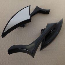 Black Spear Blade Mini Mirrors For Kawasaki Vulcan Vn 750 800 900 1500 1600