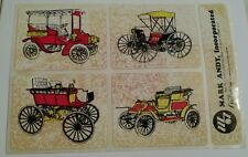 """Vintage Antique Automobiles Decal Sticker Mark Andy Inc. 7 1/2""""X 5"""".     #2"""