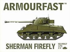 Armourfast 99017 1/72 WWII British M4 Sherman Firefly (2 Models)