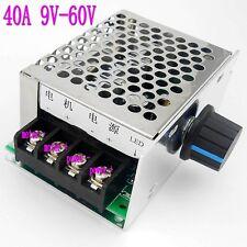 High power 40A DC Motor adjust Speed Control Controller PWM Module 12V 24V 48V