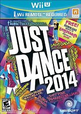 JUST DANCE 2014 for Wii U BRAND NEW & FACTORY SEALED