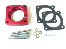 Red Anodized Throttle Body Spacer for 02-06 Nissan SENTRA SE-R SPEC V 2.5L SER