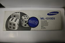 Genuine  Samsung ML-1210D3 OEM Black Toner Cartridge New in the Box