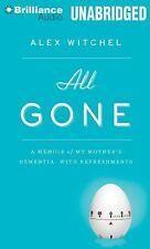 BOOK/AUDIOBOOK CD Alex Witchel Memoir Alzheimer Dementia ALL GONE