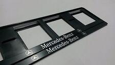 2X MERCEDES-BENZ SOPORTES DE MATRICULA EUROPEA.