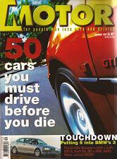 Motor Dec 97 HSV Senator 195i 540i MX-5 GS300 XR8 Commodore SS A4 M3 EVO 5 Cupra