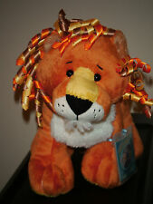 WEBKINZ Plush ~ CURLY LION NEW 2013 ~ with SEALED CODE Tag ~ IN HAND