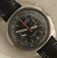 Roamer Pasadena Chronograph Date mens wristwatch steel case 43 mm. in diameter