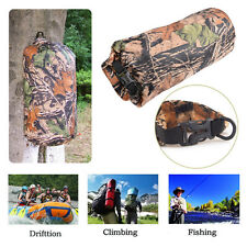 8L Camo Waterproof Dry Sack Bag Kayak Boating Camping Hiking Military Pouch