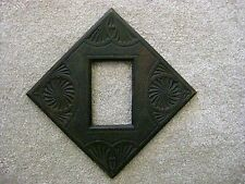 A GREAT ANTIQUE CHIP CARVED WOOD FRAME, VERY WELL CARVED