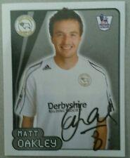 Merlins Premier League 2007/08 Adhesivo #219 Matt Oakley-Derby County