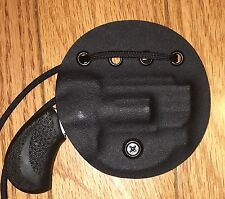 "Kydex Neck Holster For NAA .22 Magnum/ PUG 1"" Barrel, Handmade"