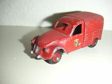 French Dinky Toys # 24d  Citroen 2cv Fire Van., good condition, all original,