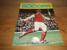 Football Magazine World Soccer June 1972 Steve Perryman Spurs Celtic Aston Villa