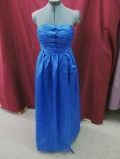 NWOT Extra Small Royal Blue Long Formal Evening Prom Bridesmaid Dress R-5-3