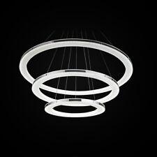 Luce Ciondolo acrilico nuovo moderno Tre Anelli Luce LED Lampadario Per Soggiorn