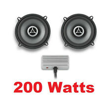 "200 Watt Fairing 4 Ohm 5 1/4"" Speakers Waterproof Mini Amplifier Kit Harley FLHT"