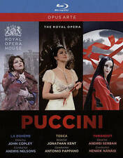 The Puccini Opera Collection [Blu-ray], New DVDs