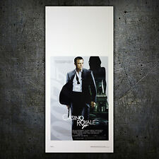 007 James Bond Casino Royale - Daniel Craig - 33X70 CM