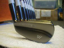 MIZUNO MP 14 3-PW SATIN BLACK CHROME BLUEPRINTED SPINE ALIGNED S300 AWESOME