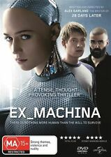 EX_MACHINA (DVD Movie) Region: 2 & 4