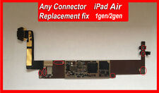 iPad Air 1/2 Logic Board Repair Service ANY Connectors  Replacement (qty-1)
