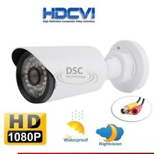 HDCVI 1080P CCTV Security Camera HD 2MP Bullet 24IR LEDs Night Vision Wide View