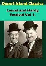 Laurel and Hardy Festival Vol 1.  DVD NEW
