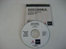 SUZUKI GSX1300R HAYABUSA K8- REPARATUR CD WERKSTATT HANDBUCH SERVICE MANUAL NEU