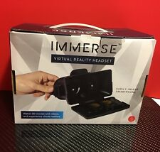 Thumbs Up Immerse Virtual Reality Headset - Watch 3D Movies Videos EXC COND
