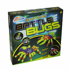 Grafix - Glow in the Dark - Battle Bugs - Paint Glow Play - 5 Year +