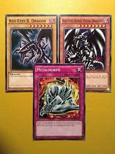 Red-Eyes Black Metal Dragon + Red-Eyes + Metalmorph - YuGiOh - Millennium Pack