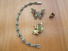 vintage Liz Claiborne jewelry 4 in lot