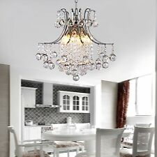Luxury Vintage Ceiling lights Lamp lighting Fixture Crystal Chandelier 6 Pendant